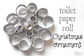 tree toilet paper roll ornaments design dazzle