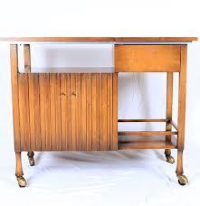 mid century modern bar cart by john widdicomb ebth