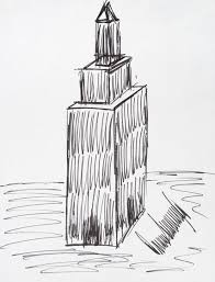 trump u0027s sketch of empire state building fetches 16 000 at auction