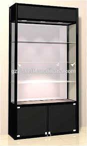 locking wine display cabinet modern style wine glass display cabinet lockable on furniture white