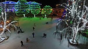 leavenworth light festival 2017 leavenworth christmas lights dji phantom 4 drone footage youtube