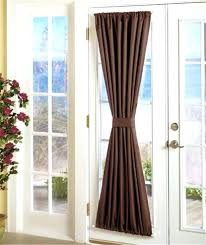 Contemporary Front Doors Front Door Sidelight Curtain Panels Panel Curtains Glass