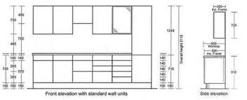 Dimensions Of Kitchen Cabinets by What Is The Standard Height For Kitchen Cabinets Everdayentropy Com