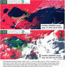 New Orleans Flood Map by Nasa Hurricane Season 2005 Katrina