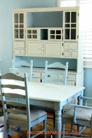 blue dining room furniture 14 cool diy dining table makeovers shelterness