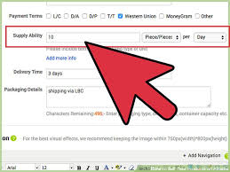 how to sell your products on alibaba with pictures wikihow