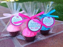 Baking Favors by Cupcake Soaps 10 Favors Birthday Favor Cupcake Soap