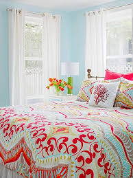 real life colorful bedrooms coral color peach and sunset