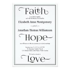 christian wedding invitation wording christian wedding invitation soft blue rectangle potrait black
