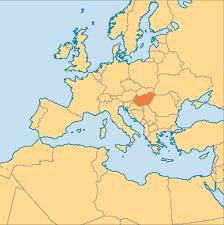 Hungary Map Europe by Hungary Operation World