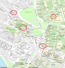Boston College Campus Map by Submillimeter Astronomy Conference