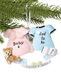 treasured ornaments we u0027re pregnant personalized ornament