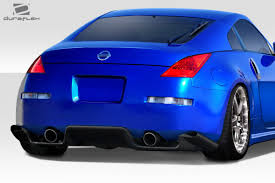 nissan 350z nismo spoiler 03 08 fits nissan 350z ts 1 duraflex rear bumper lip body kit