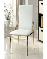 Gold Dining Chairs Gold Dining Chairs Contemporary Best Erin Chair Intended For White