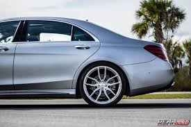 renntech tuned mercedes benz s 560 rides on 21 u201d vossen wheels