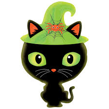 black kitty junior shape halloween foil balloon ebay