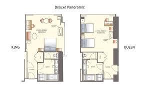 Panorama Towers Las Vegas Floor Plans Wynn Rooms U0026 Suites