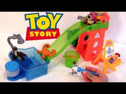 cars color changers toy story slide surprise playground color