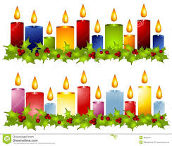 christmas reef candles clipart clipartfest