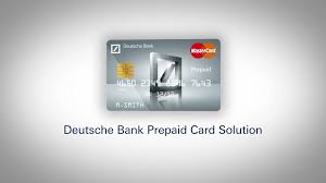 bank prepaid cards deutsche bank s corporate prepaid card solution