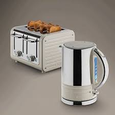 dualit architect stainless steel 4 slice toaster u0026 1 5 kettle set