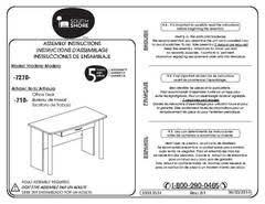 Mainstays Student Desk Instructions South Shore City Life Black Wooden Desk Walmart Com