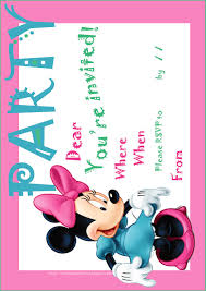 free printable invitations fine minnie mouse printable invitations follows luxury article