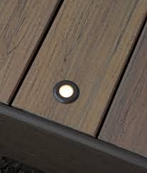 deck u0026 rail lighting led deck lights timbertech