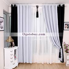 White Curtains For Bedroom Black And White Bedroom Curtains Photos And