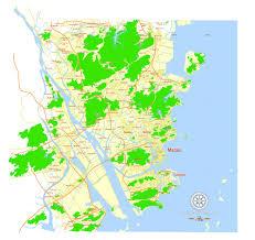 Map China Macau Map China Free Printable Editable Vector Map Svg In English