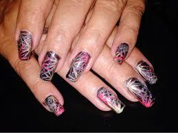 creative nail design cool acrylic nail designs creative nail design