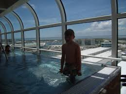 williams family the pool deck deck 11 on the disney dream