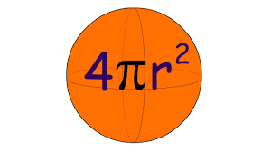surface area of a sphere deriving the formula