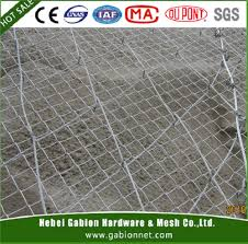 wire mesh for slope protection wire mesh for slope protection