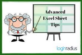 Making Excel Spreadsheet 11 Time Saving Advanced Excel Tips To Make You Pro Loginradius Fuel