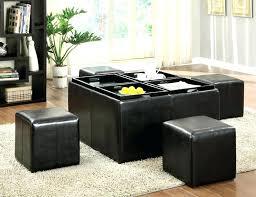 leather ottoman with storage white leather storage ottoman bench