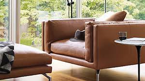 Cavett Leather Chair Brown Leather Armchairs 6 That We U0027d Love To Curl Up In