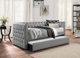 bedroom trundle day bed leather daybed with pop up trundle daybed