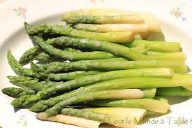 cuisiner asperge verte cuire des asperges tout le monde à table