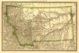 Big Sky Montana Map by Lewis And Clark County Montana Genweb Template