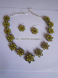 quilling earrings set handmade jewelry paper quilling flower jewelry set fah0 flickr