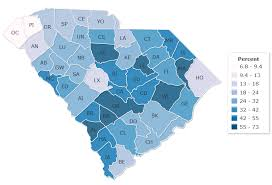 map of sc 14 maps that explain south carolina s political geography