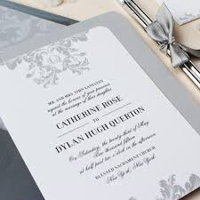wedding invitations elegant cloveranddot com