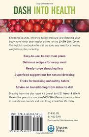 dash diet detox 14 day quick start plan to lower blood pressure