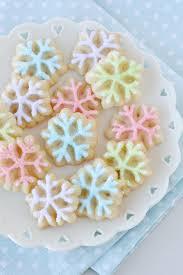 snowflake cookies spritz snowflake cookies glorious treats