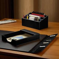 Leather Desk Organizers Leather Desk Accessories Organizers Seo2seo