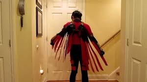 red robin costume youtube