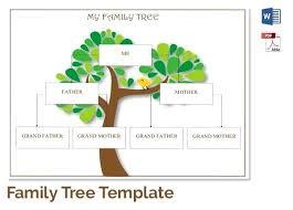 printable free family tree template family tree template excel blank family tree template format free