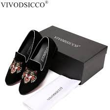wedding shoes europe vivodsicco new men velvet loafers party wedding shoes europe style