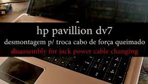hp pavilion dv7 disassembling desmontar hp laptop youtube
